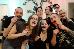 DIY Birthday photo booth