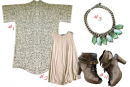 Nude Style & Trend Kimono  THE DAILY OUTFIT #4
