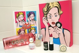 GLOSSYBOX September 2014  Pop Art Edition