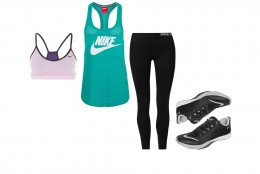 NIKE Workout  THE DAILY OUTFIT #28