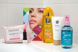 GLOSSYBOX März 2015  Fresh'n' fruity