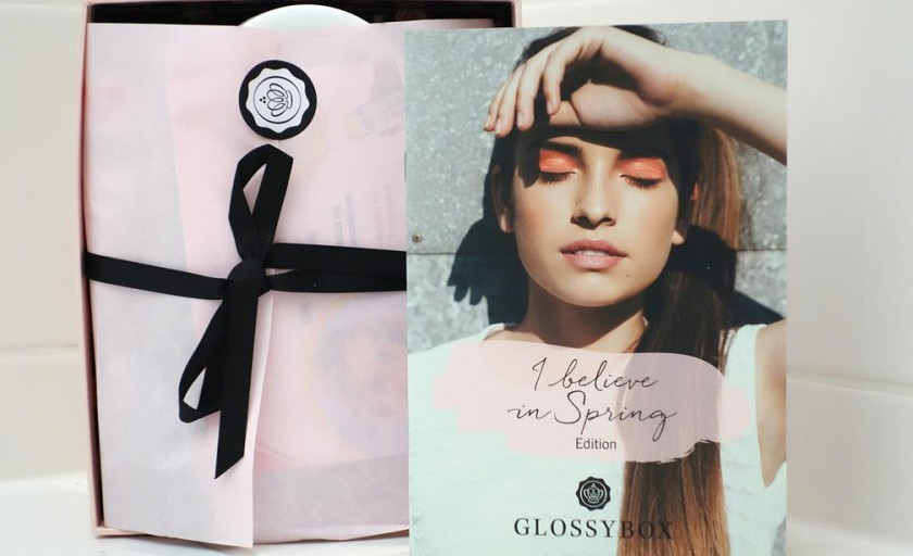 GLOSSYBOX April 2015  I believe in Spring