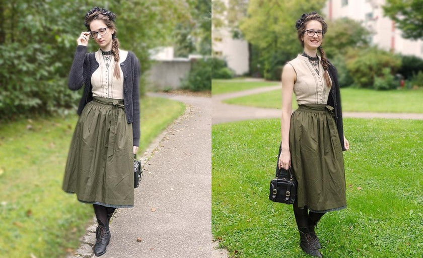 Münchner Wiesen  The Daily Outfit #51