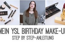 BIRTHDAY MAKE-UP TUTORIAL  YVES SAINT LAURENT