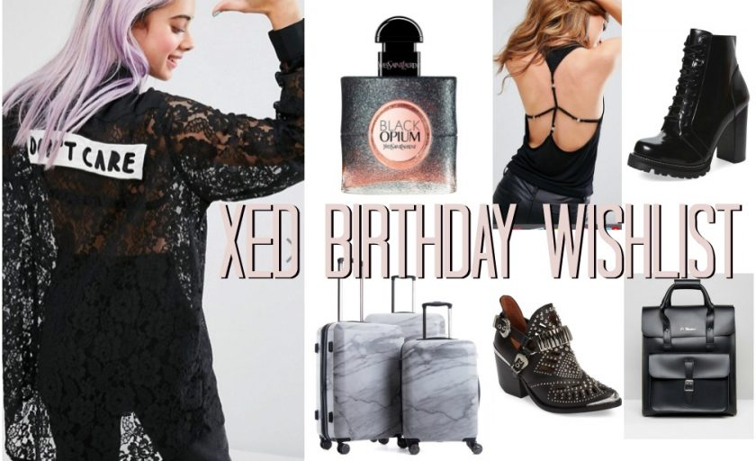 XED BIRTHDAY WISHLIST