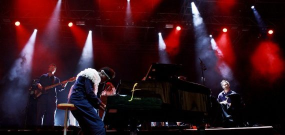 BENJAMIN CLEMENTINE  OUT OF THE WOODS FESTIVAL 2017
