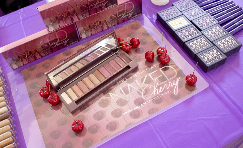 Urban Decay Naked Cherry Palette  Night Make-up Tutorial